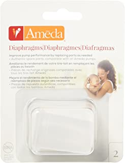 Ameda Silicone Diaphragms, Clear, 2 Count