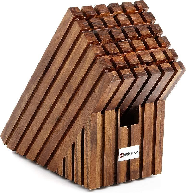 Wusthof 7 Slot Wooden Waffle Knife Storage Block