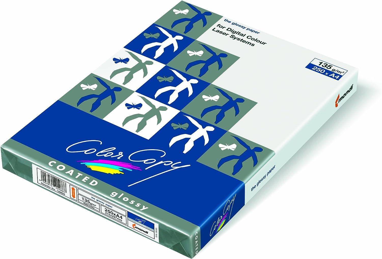 Farbe Copy coated glossy Laserdruckpapier, ECF, 170 g m², 250 Blatt Weiß, SRA3 (45x32cm) B002VPD1JO | Moderne und elegante Mode