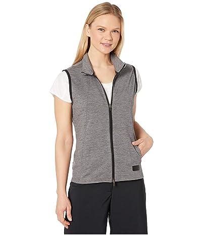 PUMA Golf Warm Up Vest (Puma Black Heather) Women