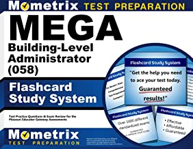 MEGA Building-Level Administrator (058) Flashcard Study System: MEGA Test Practice Questions & Exam Review for the Missouri Educator Gateway Assessments