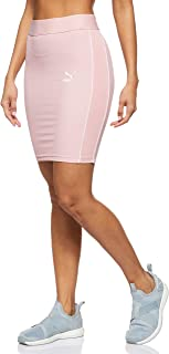 PUMA Women's Classics Rib Skirt Bridal Rose