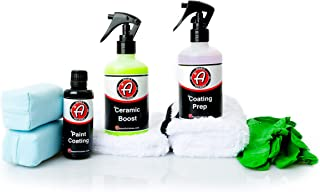 Adam's Ceramic Paint Coating - 9H Hardness Ceramic Coating - Long Lasting Protection That Beads and Repels Water (Complete Kit)