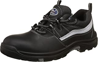 Allen Cooper AC-1425 Heat Resistant Safety Shoe, ISI Marked for IS:15298 Pt-2, PU Midsole NR OutSole, Size 8,Multicolor