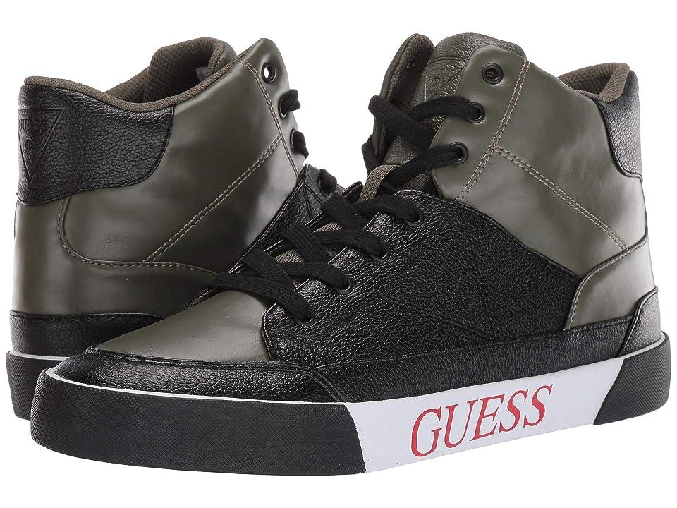GUESS Mesa (Dark Green/Black) Men