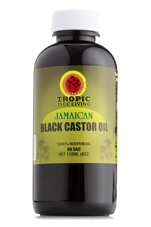 摩擦予測子前Tropic Isle Living ジャマイカ黒ヒマシ油(4オンス/118ミリリットル) Jamaican black castor oil (4oz / 118ml)