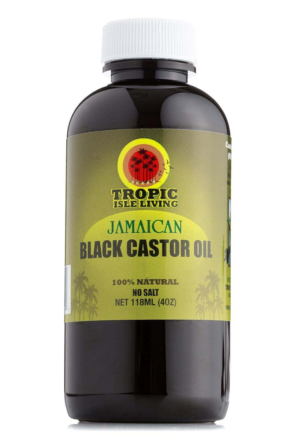 引き出し姉妹なにTropic Isle Living ジャマイカ黒ヒマシ油(4オンス/118ミリリットル) Jamaican black castor oil (4oz / 118ml)