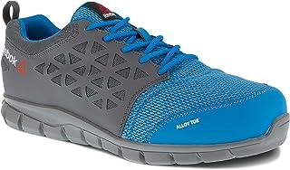 76ffdfa30e63 Reebok travail Ib1038s1p 41 Excel Light pour homme S1P SRC Chaussures de  taille 41, Bleu
