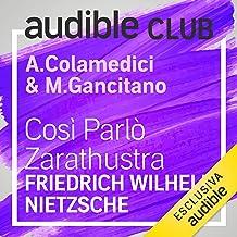 Così parlò Zarathustra: Audible Club 3