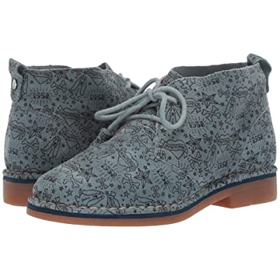 Hush Puppies Cyra Catelyn (Storm Print Suede) Women