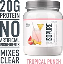 isopure anytime protein drink ingredients