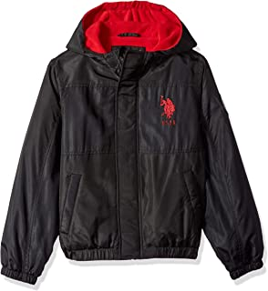 U.S. Polo Assn. Boys' Midweight Nylon Bubble Jacket