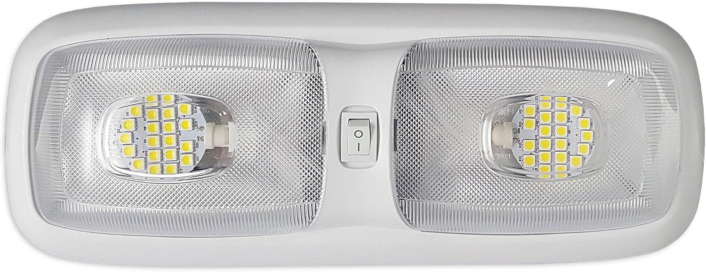 RV 12v LED Double Topics on TV Dome Lighting Max 85% OFF 4200K Lights Fixture