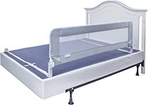 Bed Rails for Toddlers - Extra Long Toddler Bed Rail Guard for Kids Twin, Double, Full Size Queen & King Mattress - Baby Bedrail for Children (Grey XL)