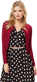 Review Women's Chessie Shimmer Long Sleeve Cardi Ruby Shimmer