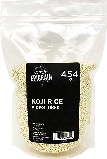 Premium Koji Dried Rice - 454g (1Lb)   Japanese Ingredient for Making Miso, Sweet Sake, Pickles