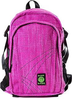 Original Hemp Backpack - Knapsack w/Smell Proof Pouch & Secret Pocket