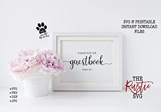 Pulling Please Sign Our Guestbook Guestbook Printable Sign Guestbook Sign Wedding Guestbook Sign