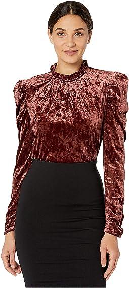 Mahogany Knit Velvet