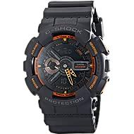 Men's GA-110TS-1A4 G-Shock Analog-Digital Watch With Grey Resin Band