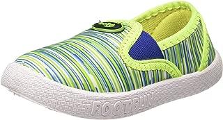 Footfun (from Liberty) Boy's Green Moccasins - 6 Kids UK/India (23 EU)(8152013143230)