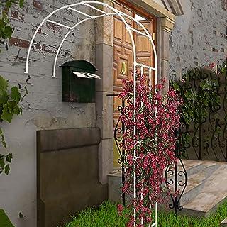花园拱门 玫瑰拱门 园艺 ガーデンアーチ攀岩 组装简单 玫瑰拱形 パーゴラ 組立 キット玄关拱门 拱廊 室外庭院 草地植物装饰