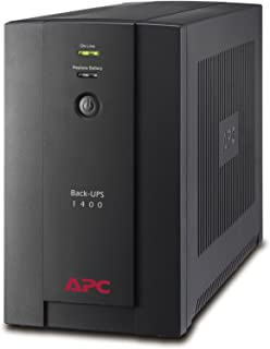 APC BX1400U-GR Back-UPS BX - Sistema de alimentación