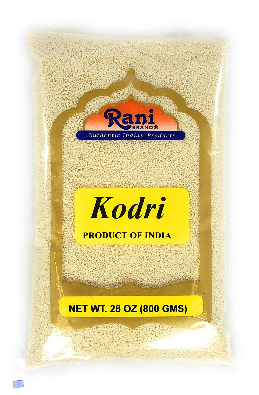 Rani 100% quality warranty! 25% OFF Kodri Polished Kodo Millet Grains Seeds Ancient 28o 800g