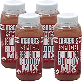 Madge's Fermented Bloody Mary Mix Spicy 4 pack (8 oz.)