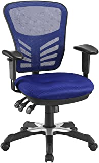 Modway Articulate Ergonomic Mesh Office Chair in Blue