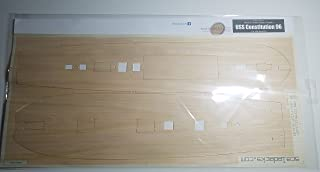 Premium Wood Deck for 1/96 USS Constitution (fits Revell kit)