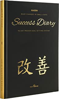 $25 » KAIZEN SUCCESS DIARY - 3 month undated daily goal journal, the BEST planner for productivity gratitude and happiness - 6,6...