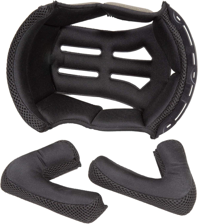 Fulmer 400 Cruz Helmet Luxury Inner Liner Set Max 41% OFF Pad MD Black