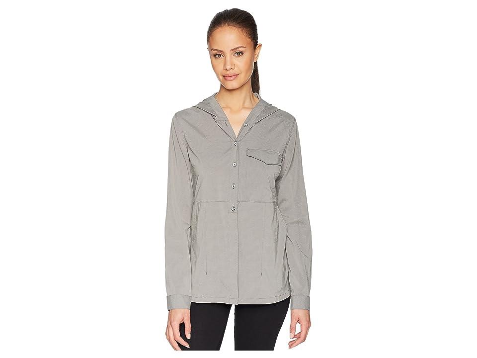 Mountain Hardwear Citypasstm Long Sleeve Top (Manta Grey) Women