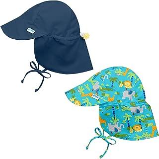 i play.. 2PK UPF 50+ Sun Protection Flap Sun Hats Baseball Brim Hat Beach Hat Navy