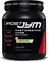 Post JYM Fast-Digesting Carb - Post-Workout Recovery Pure Dextrose | JYM Supplement Science | Rainbow Sherb...