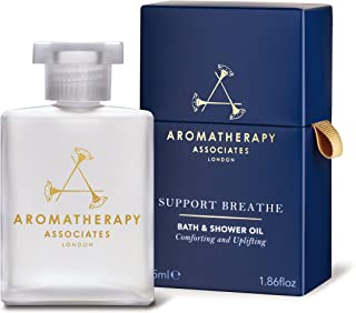 Aromatherapy Associates Support Breathe Bath & Shower Oil, 1.86 Fl Oz