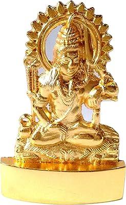 Durga Idol Doorga Murti Statue Heart Of A Mother Golden Color 11 cm Height