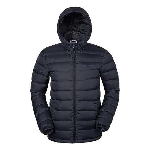 b6f7821607b Mountain Warehouse Season Mens Jacket - Padded Mens Warm Jacket,  Lightweight Winter Jacket, Water