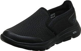 Skechers Men's GOwalk 5 - Elastic Stretch Athletic Slip-On Casual Loafer Walking Shoe Sneaker