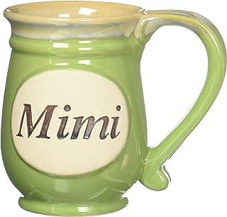 burton+BURTON Porcelain Handpainted Mimi Coffee Mug with Message- Perfect Grandmother Gift