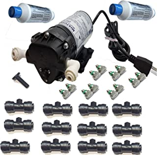 Mstcooling Mistcooling 12020 Mister-110 V AC Patio Mister-160 PSI System with Nickel Plated Mist Nozzles, BlackTubing