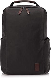 HP Spectre Folio Rucksack 15,6 Zoll, Laptoptoptasche, RFID, Kofferhalterung, Zubehörfächer, gewachstes Segeltuch braun