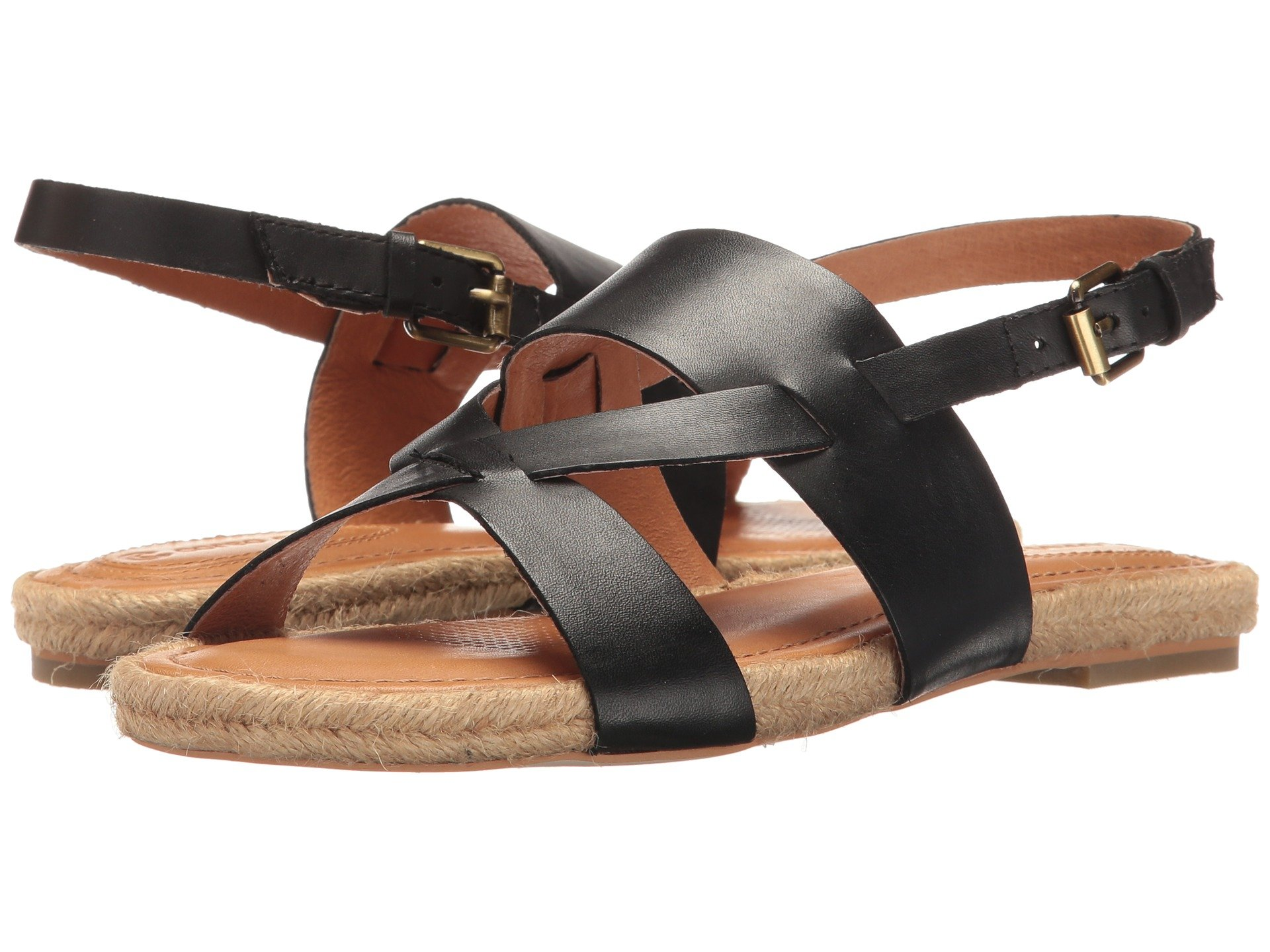 CORSO COMO Pine Key in Black Brushed Leather