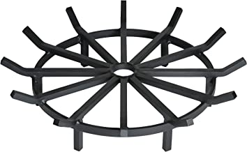 SteelFreak Super Heavy Duty Wagon Wheel Firewood Grate for Fire Pit - Made in The USA (28 Inch)