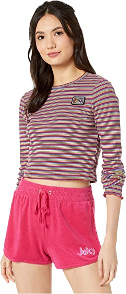 Skinny Thermal Stripe