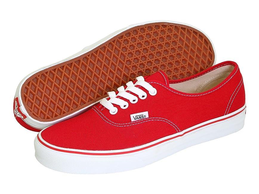 管理者春不満(バンズ) VANS メンズスニーカー?靴 Authentic Core Classics Red Men's 13, Women's 14.5 (31cm(レディース31.5cm)) Medium
