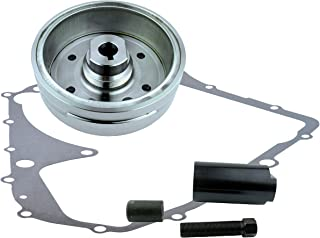Kit Flywheel + Flywheel Puller Gasket for Suzuki LTA 400 Eiger 2002-2007 LTA400 | OEM Repl.# 32102-38F00 32102-38F01 32101-38F00