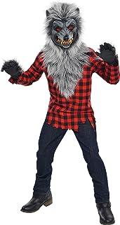 Amscan International Déguisement de loup-garou pour enfant 8/10 ans/134 cm