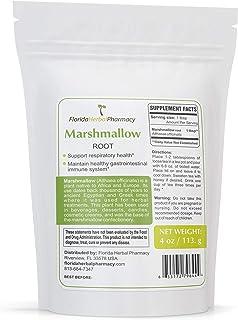Florida Herbal Pharmacy, ORGANICALLY Grown Marshmallow Root (Althaeae officinalis)4 oz.